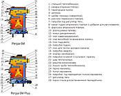 Котел Ретра-5М PLUS -10 кВт твердопаливний, фото 3