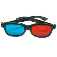 Анаглифные Стерео очки 3D, пластик