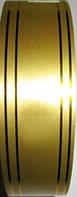 Лента полипропиленовая 46 м*3 см, золото