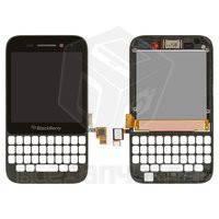 Дисплейный модуль для мобильного телефона Blackberry Q5, черный
