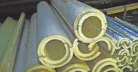 Пенополиуретановые цилиндры дм. вн. 70 мм (покрытие фольгой)