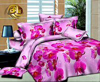 Семейный набор хлопкового постельного белья из Ранфорса №1018 Черешенка™