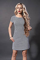 Платье мод. 277-2,размер 44,46,48 лапка черная