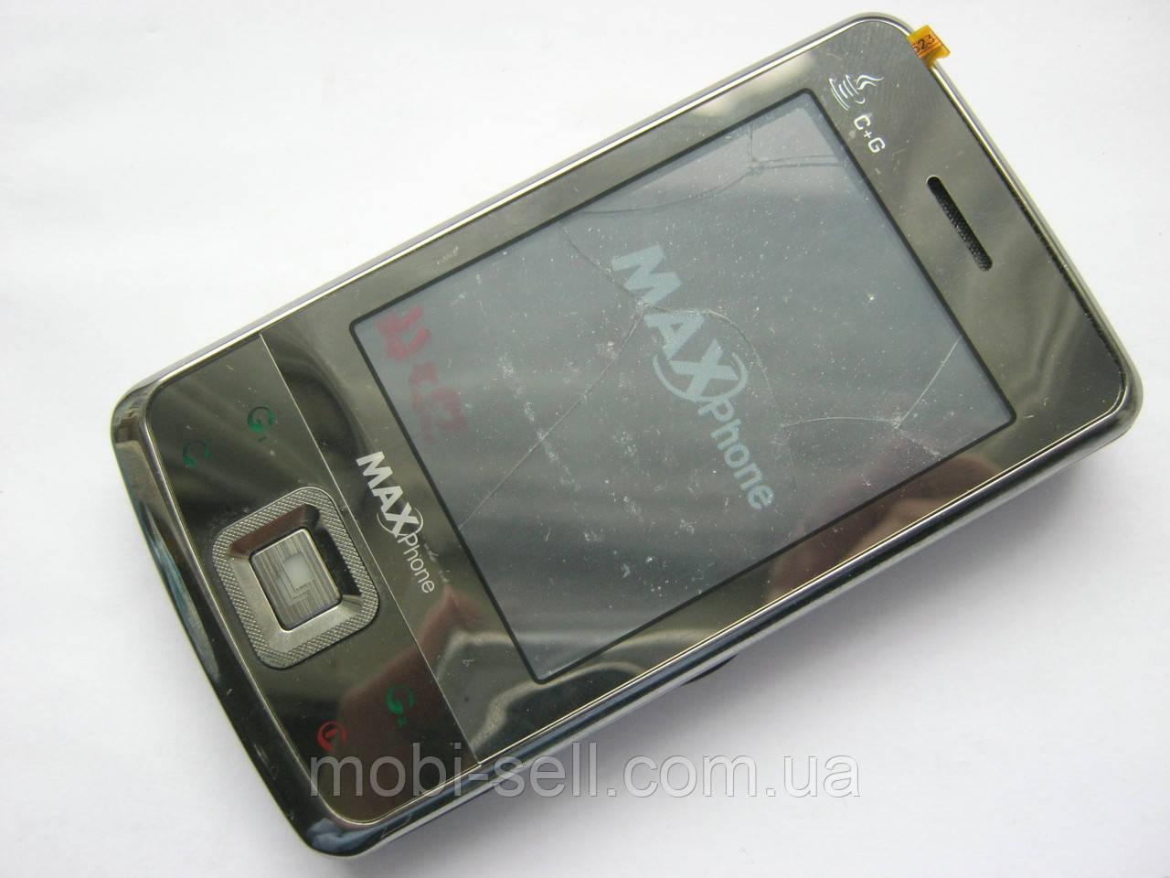 CDMA / GSM China MaxPhone C99, разбитый сенсор