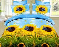 Двуспальный набор постельного белья Ранфорс №248