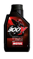 Масло моторное Motul 300V 4T Factory Line Road Racing 5W-40 1л