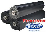 Бутилкаучуковая EPDM пленка Firestone Pond Liner, ширина 9,15 м