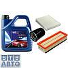 Комплект (масло + фільтра) для Fiat Doblo 1.4i 2005-2011
