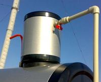 Розширювальний бак для термосифонної системи (метал) 5л, 210мм