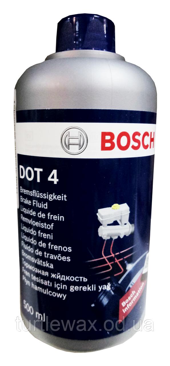 Тормозная жидкость BOSCH DOT-4, 500мл