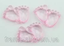 Кристал для декора Ножки розовые 5-23486 1шт
