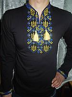 """Рубашка мужская с вышивкой """"Тризуб""""-3 (5)"""