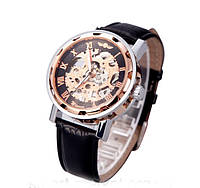 Механические наручные часы,скелетон, Winner Skeleton, м-006