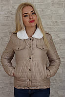 """Короткая женская демисезонная куртка """"Shindao"""" с карманами (3 цвета)"""