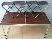 Раскладной алюминиевый столик мебель для пикника раздвижной стол