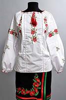 """Вышитая рубашка женская """"Кристинка"""" , фото 1"""