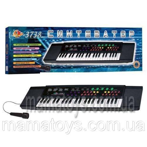 Пианино Синтезатор  + Микрофон. SK 3738