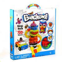 Конструктор-липучка Вязкий Пушистый шарик Bunchems (Банчемс) 700 деталей