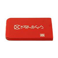 """Внешний карман для HDD SATA 2.5"""" USB 2.0 (без болтов) Kolega-Power (Красный)"""