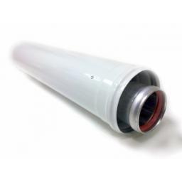 Коаксиальный удлинитель дымохода для котлов 60/100 L=1000