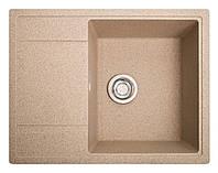 Кухонная мойка из искусственного камня (гранитная) Оптима песок