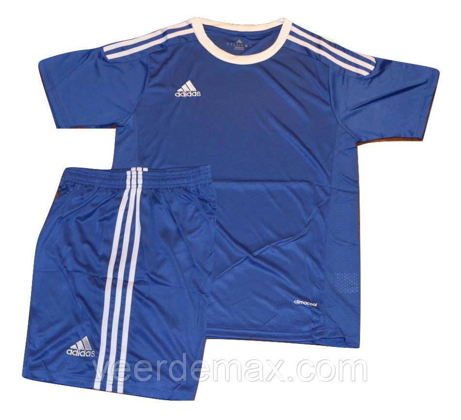 Футбольная форма игровая ( цвет - синий )