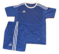 Футбольная игровая форма игровая Adidas ( цвет - синий )