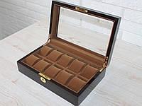 Шкатулка для хранения часов на 10 отделений Rothenschild RS-804-10EK, фото 1