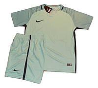 Футбольная игровая форма игровая Nike ( цвет - аквамарин )