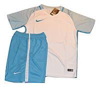 Футбольная форма игровая Nike ( цвет - светло голубой )