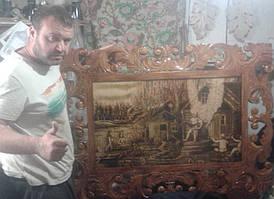 Адольф Юрьев - ручная резьба по дереву 1