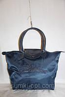 Сумка женская нейлоновая копия Le Pliage Longchamp , фото 1