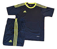 Футбольная игровая форма игровая Adidas ( цвет - темно синий )