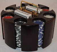 Покерный набор на 200 фишек, покер