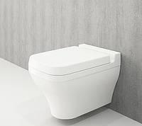 Унітаз підвісний білий BOCCHI SCALA ARCH 1080-001-0129+A0322-001 сидіння дюропласт