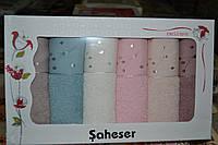 Набор кухонных полотенец Saheser Vip Cotton (100% хлопок) 6шт. 30х50см. Турция
