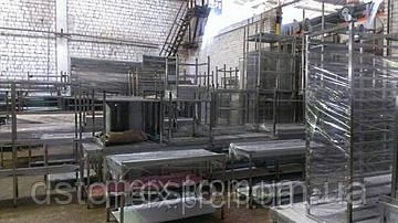 Обновление склада нержавейки. Столы, мойки, мармиты, прилавки в наличии!