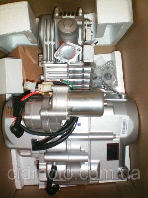 Двигатель для мопедов Дельта Альфа Актив 125 куб полуавтомат
