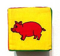 """Мягкий кубик """"Животные"""", фото 1"""