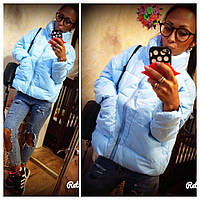 Женская синтепоновая куртка Монклер 415