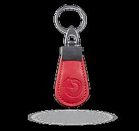 PC-14-RE Кожаный жетон радиочастотной идентификации (RFID) - красный