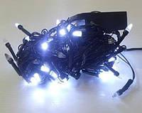 Гирлянда LED500W-2 500led черная c прозрачным наконечником (белая) в ящике 40шт.