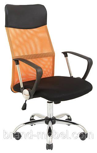 Кресло Ультра Хром сетка оранж Richman