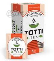 Чай Тотти / Totti Ceylon Magic, черный, 25 пак*2г, фото 2
