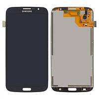 Дисплей (экраны) для Samsung i9200 Galaxy Mega 6.3, i9205 Galaxy Mega 6.3 с сенсором (тачскрином) синий