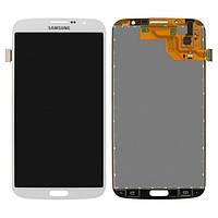 Дисплей (экраны) для Samsung i9200 Galaxy Mega 6.3, i9205 Galaxy Mega 6.3 с сенсором (тачскрином) белый