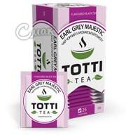 Чай Тотти / Totti Earl Grey Majestic, черный с бергамотом, 25 пак*2г