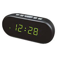 Электронные цифровые настольные часы зеленые VST-712-2/LIGHTGREEN