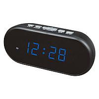 Электронные цифровые настольные часы синие VST-712-5/BLUE