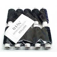 Нитки швейные №10 черные